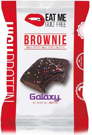 Eat Me Guilt Free Protein Brownies  Galaxy Chocolate - 12 Brownies