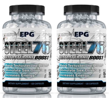EPG Steel75 Boost Test Booster TWINPACK - 2 x 120 Cap Btls