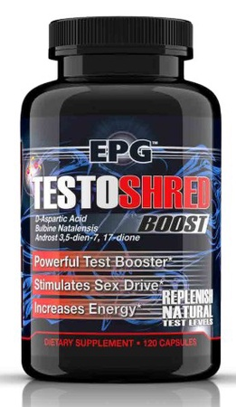 EPG Testoshred Boost - 120 Cap