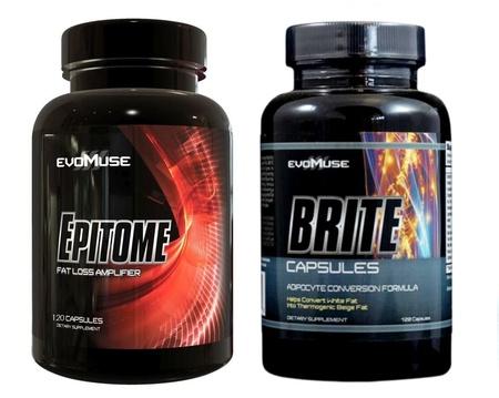 EvoMuse Brite / Epitome Stack  - 1 Bottle of each