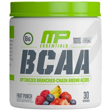 MusclePharm BCAA Fruit Punch - 30 Servings
