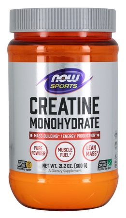 Now Foods Creatine Powder - 600 Grams