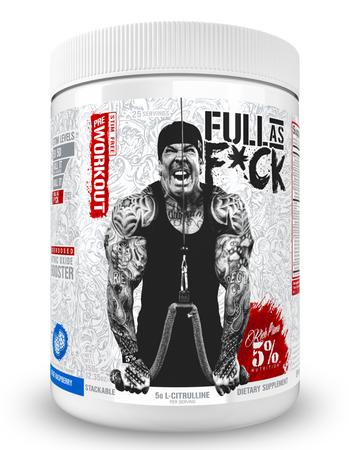 5% Nutrition Full As F*ck Blue Raspberry - 25 Servings