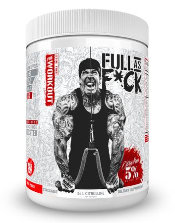 5% Nutrition Full As F*ck Fruit Punch - 25 Servings