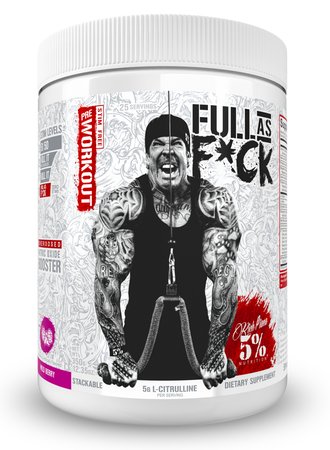 5% Nutrition Full As F*ck Wild Berry - 25 Servings
