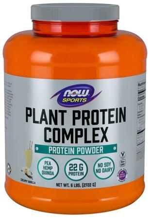 Now Foods Plant Protein Complex  Creamy Vanilla - 6 Lb