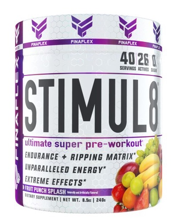 Finaflex Stimul8  Fruit Punch Splash - 40 Servings
