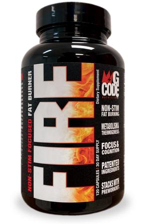 GCode Nutrition FIRE - 120 Cap