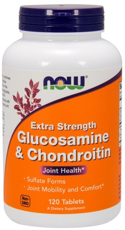 Now Foods Glucosamine & Chondroitin Extra Strength - 120 Tab