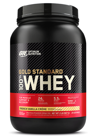 Optimum Nutrition 100% Whey Gold Standard French Vanilla Crème - 29 Servings