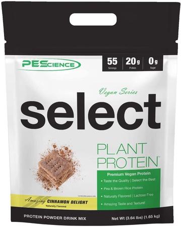 PES Select Vegan Protein Cinnamon Delight - 55 Servings