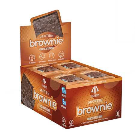 AP Prime Bites Protein Brownie Chocolate Fudge - 12 Pack