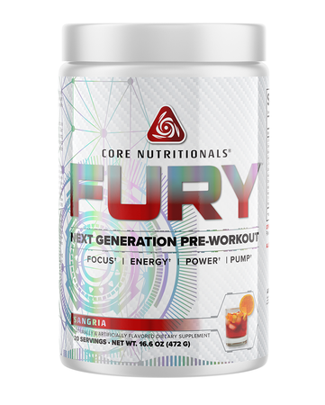 Core Nutritionals FURY Sangria - 20 Servings