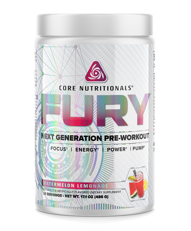 Core Nutritionals FURY Watermelon Lemonade - 20 Servings