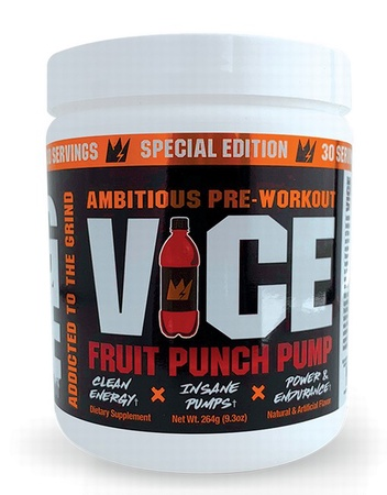 G Code Nutrition VICE Preworkout Fruit Punch - 30 Servings