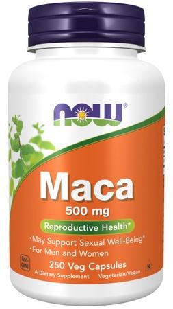 Now Foods Maca 500 Mg - 250 Cap