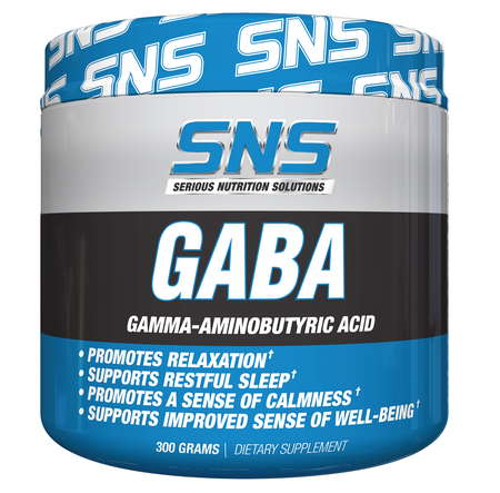 SNS Serious Nutrition Solutions GABA Powder - 300 Grams
