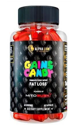 Alpha Lion Gains Candy Mitoburn - 60 Cap