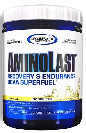 Gaspari Nutrition AminoLast Lemon Ice - 30 Servings