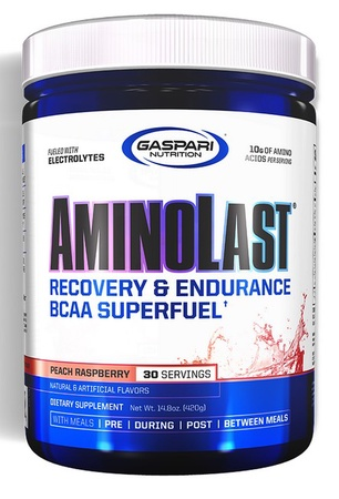 Gaspari Nutrition AminoLast Peach Raspberry - 30 Servings