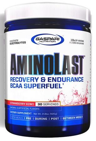 Gaspari Nutrition AminoLast Strawberry Kiwi - 30 Servings