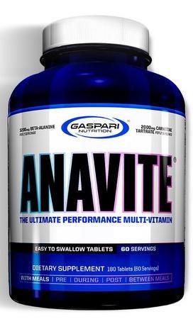 Gaspari Nutrition Anavite - 180 Tab