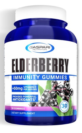 Gaspari Nutrition Elderberry Immunity Gummies - 30 Gummies
