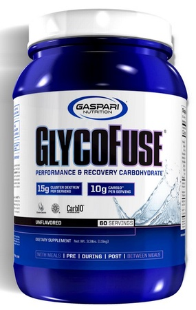 Gaspari Nutrition Glycofuse Unflavored - 60 Servings