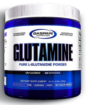 Gaspari Nutrition L-Glutamine Pure Unflavored - 300 Grams (60 Servings)
