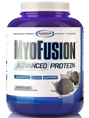 Gaspari Nutrition MyoFusion Advanced Protein Cookies & Cream - 4 Lb