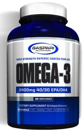 Gaspari Nutrition Omega-3  960mg EPA & 720mg DHA  - 30 Servings