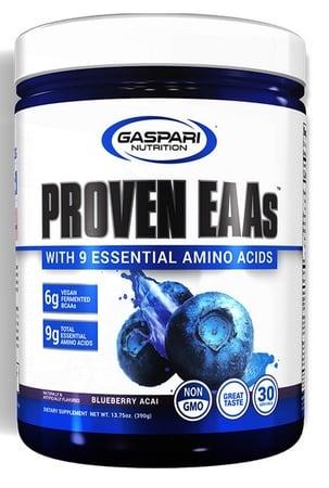 Gaspari Nutrition Proven EAA Blueberry Acai - 30 Servings