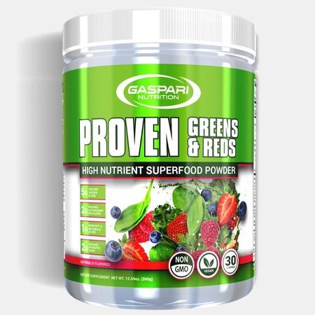 Gaspari Nutrition Proven Greens & Reds - 30 Servings