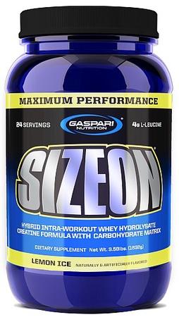 Gaspari Nutrition SizeOn Max Performance Lemon Ice - 24 Serving