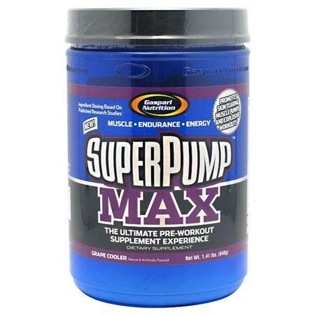 Gaspari Nutrition SuperPump Max Grape Cooler - 40 Servings