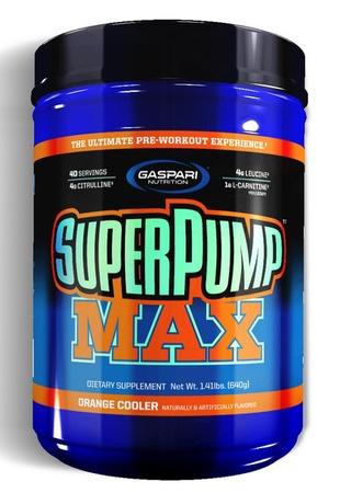 Gaspari Nutrition SuperPump Max Orange - 40 Servings