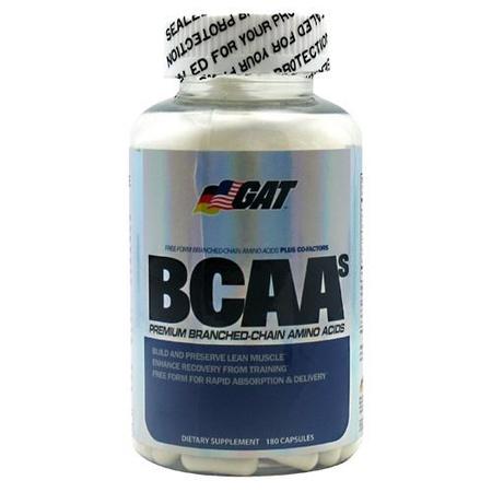 GAT BCAA's - 180 Cap