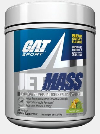 GAT JetMass Lemon Lime - 30 Servings