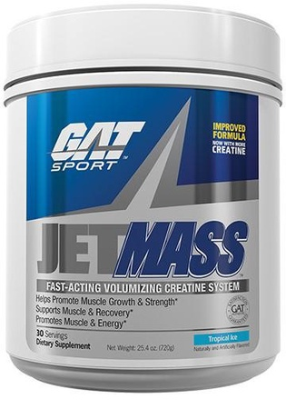 GAT JetMass Tropical Ice - 30 Servings