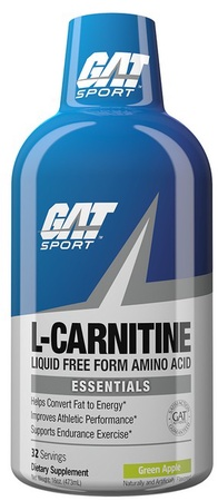 GAT Liquid L-Carnitine 1500 Green Apple - 32 Servings