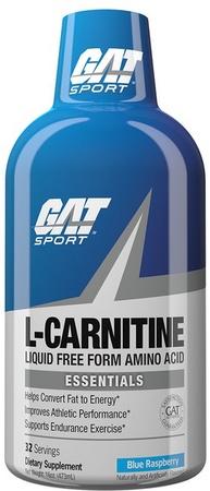 GAT Liquid L-Carnitine 1500 Blue Raspberry - 32 Servings