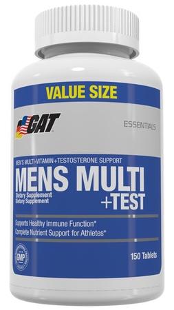 GAT Mens Multi + Test - 150 Tablets