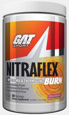 GAT Nitraflex  BURN Pink Lemonade - 30 Servings