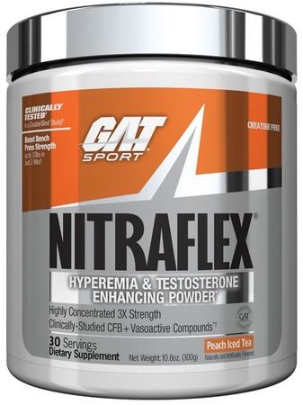 GAT Nitraflex Peach Iced Tea - 30 Servings