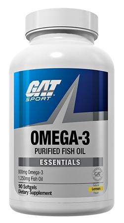 GAT Omega 3 Purified Fish Oil - 90 Softgels