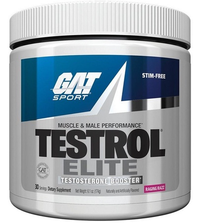 GAT Testrol Elite Raging Razz - 30 Servings *Expires 4/21