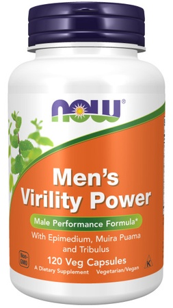 Now Foods Men's Virility Power - 120 Cap