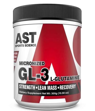 Ast GL-3 Micronized L-Glutamine - 300 Grams