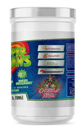 Glaxon Super Greens Orchard Iced Tea - 42 Servings