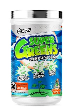 Glaxon Super Greens Orchard Iced Tea - 30 Servings